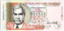 Ile Maurice 100 Rupees, R. Seeneevassen - Batiment - 1999 - P.51 a