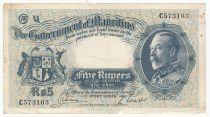 Ile Maurice 5 Rupee Georges V - 1930 Série C573103