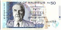 Ile Maurice 50 Rupees,  J.M. Paturau - Hôtel - 1998 - P.43