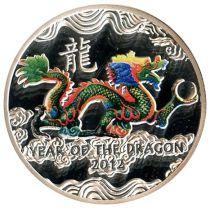 Ile Niue 1 Dollar Année du Dragon