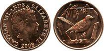 Iles Caïman 1 Cent Elisabeth II - Oiseau