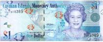 Iles Caïman 1 Dollar 2010 Elisabeth II - Poissons - Paysage  Série D1