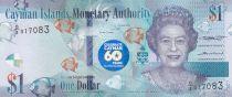 Iles Caïman 1 Dollar Elisabeth II - 60 ans de la Constitution - 2018 (2020) - Neuf