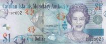 Iles Caïman 1 Dollar Elisabeth II - Poissons - 2018 - Neuf