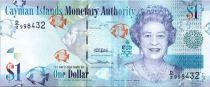 Iles Caïman 1 Dollar Elisabeth II - Poissons - Paysage - 2010 - Série D2