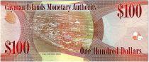 Iles Caïman 100 Dollars 2010 - Elisabeth II - Voiliers - Neuf - P.43a Série D.1