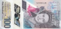 Iles des Caraïbes 100 Dollars Elisabeth II - Polymer - 2019 - Neuf