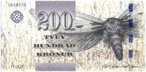 Iles Féroé P.31 200 Kronur, Mite - Vue de Vagum - 2011