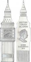 Iles Vierges Britanniques 1 Dollar Big Ben - Elisabeth II - 2016