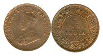 Inde 1/12 Rupee Georges V
