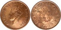 Inde 1/4 Anna George VI - 1942