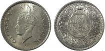 Inde 1/4 Rupee George VI Roi et Empereur