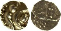 Inde 1 Fanam à identifier  - Or - 1820-1830