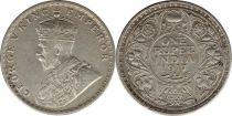 Inde 1 Rupee Georges V Roi et Empereur - 1917