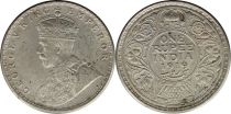 Inde 1 Rupee Georges V Roi et Empereur - 1919