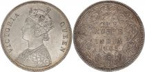 Inde 1 Rupee Reine Victoria - 1862