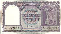 Inde 10 Rupees, Colonne aux lions -  Boutre - 19(57-62) - P.39 c