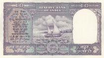 Inde 10 Rupees Bateau