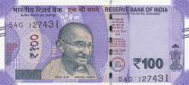 Inde 100 Rupees, Mahatma Gandhi - 2018