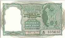 Inde 5 Rupees, Colonne aux Lions - Antilopes - 19(49-57)  - P.33