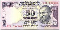 Inde 50 Rupees Mahatma Gandhi - Parlement - 2015