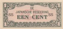 Indes Néerlandaises 1 Cent Occupation japonaise WWII
