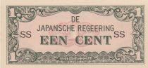 Indes Néerlandaises 1 Cent Occupation japonaise WWII