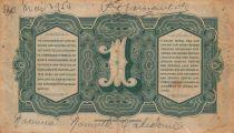Indes Néerlandaises 1 Gulden Reine Wilhelmina 1943 - P.111 TB