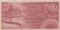 Indes Néerlandaises 500 Gulden - Rizière - 1946 Série UE