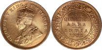 India 1/4 Anna George V - 1935