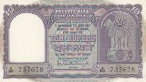 India 10 Rupees Boat