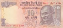 India 10 Rupees Mahatma Gandhi - Animals 2014 -UNC