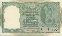 India 5 Rupees Antelopes