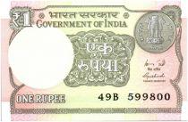 Indien 1 Rupee Oil rig - 2015