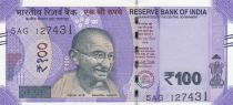 Indien 100 Rupees, Mahatma Gandhi - 2018
