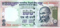 Indien 100 Rupees Mahatma Gandhi - Mountain 2014