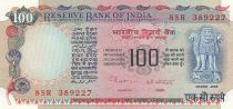 Indien 100 Rupees ND1978 p86f