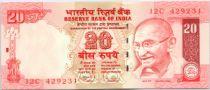 Indien 20 Rupees Mahatma Gandhi - Beach