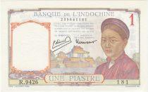 Indo-Chine Fr. 1 Piastre - 1950 - SPL + - Série R.9426