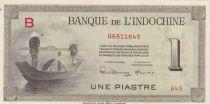 Indo-Chine Fr. 1 Piastre Pêcheurs - 1945 (1951) Série B - Specimen Caissier 59