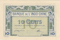 Indo-Chine Fr. 10 Cents - 1919 - Impression Banque Chaix - Epreuve - Neuf