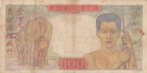 Indo-Chine Fr. 100 Piastres Mercure ND 1947 - Série E.1299
