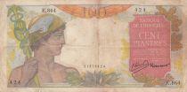 Indo-Chine Fr. 100 Piastres Mercure ND 1947 - Série E.864