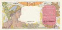 Indo-Chine Fr. 100 Piastres Mercure ND 1947 , Spécimen - Neuf