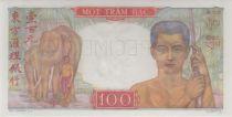 Indo-Chine Fr. 100 Piastres ND1949 Mercure, Spécimen - PCGS UNC 65