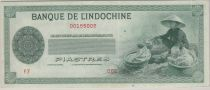 Indo-Chine Fr. 50 Piastres ND1945 sans valeur - PCGS AU 53