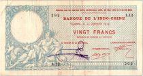 Indo-Chine Française 20 Francs