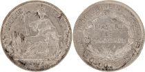 Indochina Französin 1 Piastre Liberté assise - 1907 A