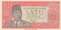 Indonesia 1 Rupiah President Sukarno - Javanese dancer - 1964 - XF - P.80