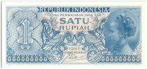 Indonesia 1 Rupiah Young woman